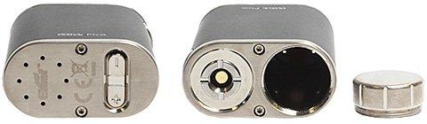 Кнопки регулировки и отсек для батареи 18650