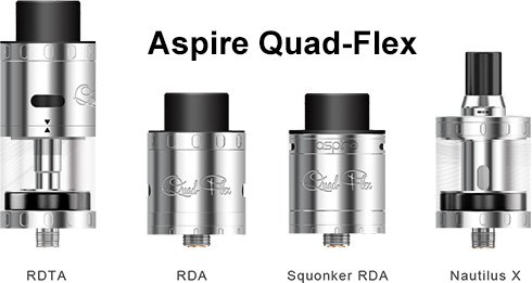 Трансформация Aspire Quad-Flex Survival Kit