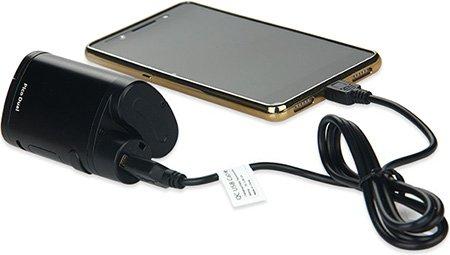 Зарядка смартфона с помощью Avatar Reverse Charging Adapter