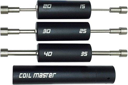 Различные насадки набора Coil Master V4