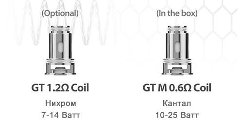 Испарители серии Eleaf GT