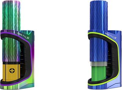Совместимость Eleaf iStick Pico S with ELLO VATE с аккумуляторами 18650 и 21700