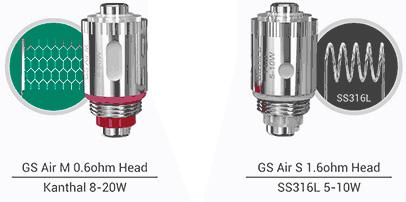 Испарители серии Eleaf GS Air