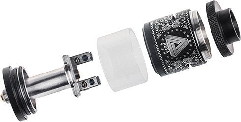 Limitless RDTA Plus в разборе